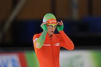 SCHAATSEN: BERLIJN: Sportforum, 07-12-2013, Essent ISU World Cup, 500m Ladies Division B, Marrit Leenstra (NED), ©foto Martin de Jong