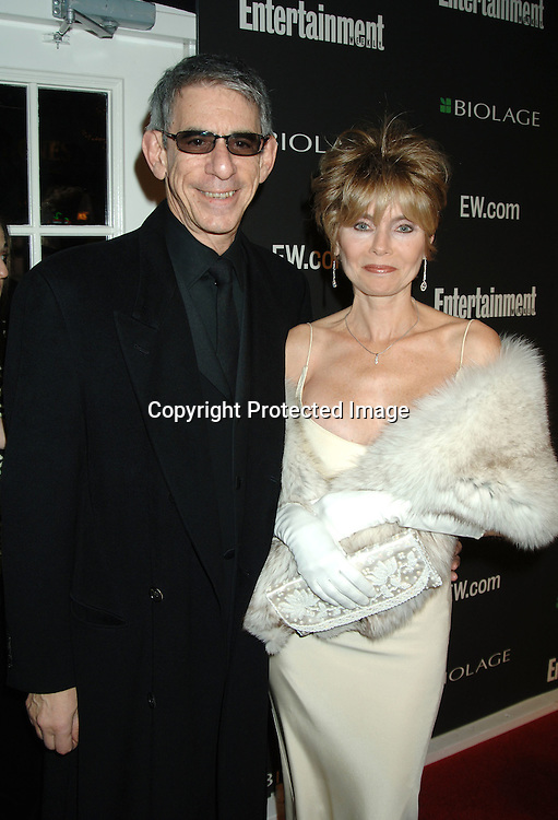 Richard Belzer and wife Harlee McBride arriving at The 12th Annual