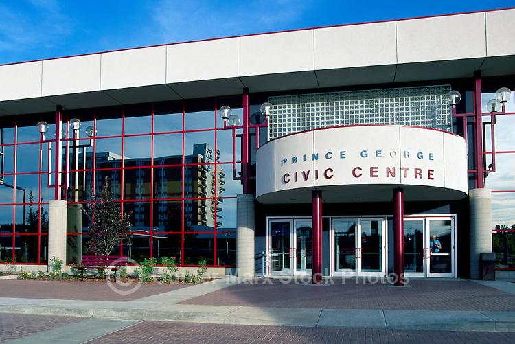 Prince George, BC, British Columbia, Canada - Civic Centre / Center Building