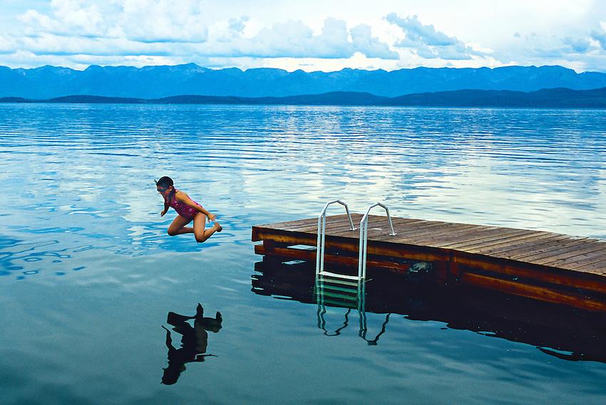 lake flathead montana clearwater Crystal