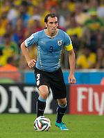 Diego Godin of Uruguay
