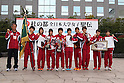 Ritsumeikan University team group, .OCTOBER 23, 2011 - Athletics : .The 29th All Japan Women's University Ekiden .in Miyagi, Japan. .(Photo by AFLO) [1040] .