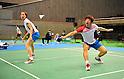 Yong Dae Lee & Jung Eun Ha (KOR), September 22, 2011 - Badminton : YONEX Open Japan 2011, Mixed Doubles at Tokyo Metropolitan Gymnasium, Tokyo, Japan. (Photo by Jun Tsukida/AFLO SPORT) [0003]