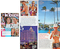 Jun 10, 2007 - Los Angeles, CA, USA - In this In Touch June 10, 2007 issue they featured my photo of the Maui Four Seasons Resort in a 'Hot List' article about celebrities favorite places to vacation. (Credit Image: © Marianna Day Massey/ZUMA Press).(Credit Image: © Marianna Day Massey/ZUMA Press)