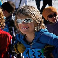 XC skier smile
