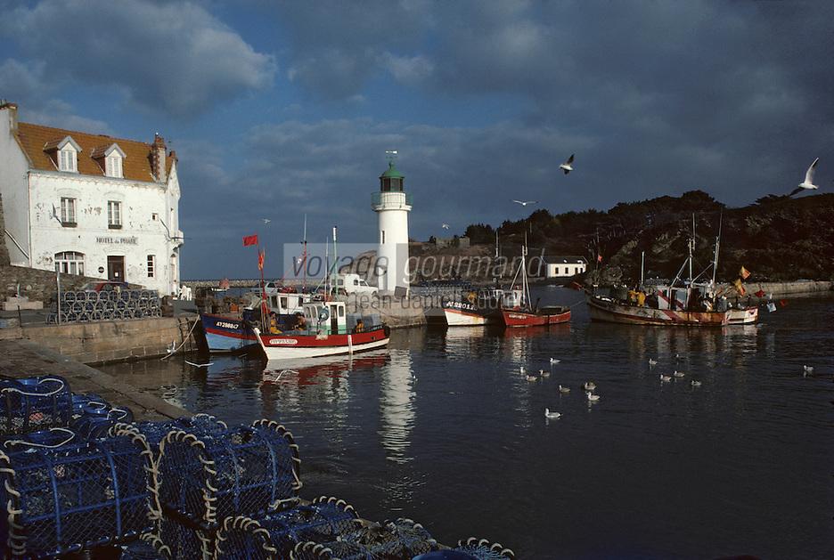 Europe/France/Bretagne/56/Morbihan/Belle-île/Sauzon: Le port