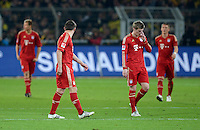 FUSSBALL   1. BUNDESLIGA   SAISON 2011/2012   30. SPIELTAG Borussia Dortmund - FC Bayern Muenchen            11.04.2012 Enttaeuschung nach dem 1:0: Ivica Olic und Toni Kroos (v.l., beide FC Bayern Muenchen)