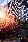 Sochi 06.06.2010 Russia<br /> Construction of large hotel complex in Sochi. In Sochi during the Sochi Olympics miszkancy are forbidden to leave the apartments. Most inhabitants are opposed to organized the Olympic, since knowledge of this would not be anything good of their city. Many of the residents can be evicted.<br /> Photo: Adam Lach / Newsweek Polska / Napo Images<br /> <br /> Budowa wielkiego kompleksu hotelowego w Soczi. W Soczi podczas Igrzysk Olimpijskich miszkancy Soczi maja zakaz wychodzenia z mieszkan. Wiekszosc mieszkancow jest przeciwna organizowanym Igrzyskom, albowiem wiedza ze nie przyniesie to niczego dobrego ich miastu. Wielu z mieszkancow moze byc eksmitowana.<br /> Photo: Adam Lach / Newsweek Polska / Napo Images