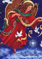 Christmas - angels paintings