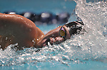 24 MAR 2012: Martin Grodzki of the University of Georgia competes in the 1650 yard freestyle race during the Division I Men's Swimming and Diving Championship held at the Weyerhaeuser King County Aquatic Center in Seattle, WA.  Grodzki swam a 14:24.08 to win the event and set a new NCAA meet record.  Rod Mar/ NCAA Photos