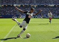Fussball Bundesliga Saison 2011/2012 2. Spieltag Hamburger SV - Hertha BSC Berlin RAFFAEL (Hertha BSC).