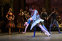 London, UK. 12.01.2016. English National Ballet present Le Corsaire, at the London Coliseum. Picture shows: Laurretta Summerscales (Medora), Brooklyn Mack (Conrad). Photograph © Jane Hobson.
