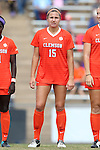 25 October 2015: Clemson's Samantha Staab. The University of North Carolina Tar Heels hosted the Clemson University Tigers at Fetzer Field in Chapel Hill, NC in a 2015 NCAA Division I Women's Soccer game. UNC won the game 1-0.