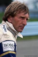 Derek Bell at the 1984 IMSA race at Watkins Glen, New York.