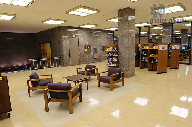 Hesburgh Library interior - 2nd floor