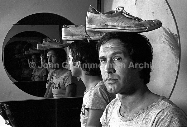 Comedian Chevy Chase, Los Angeles, 1976. Photo by John G. Zimmerman.
