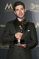 LOS ANGELES - APR 29:  Kristos Andrews at the 2017 Creative Daytime Emmy Awards at the Pasadena Civic Auditorium on April 29, 2017 in Pasadena, CA