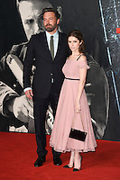 LONDON, UK. October 17, 2016: Ben Affleck &amp; Anna Kendrick at the premiere of &quot;The Accountant&quot; at the Empire Leicester Square, London.<br /> Picture: Steve Vas/Featureflash/SilverHub 0208 004 5359/ 07711 972644 Editors@silverhubmedia.com