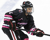 Maggie DiMasi (NU - 4) - The Northeastern University Huskies defeated the visiting Providence College Friars 8-7 on Sunday, January 20, 2013, at Matthews Arena in Boston, Massachusetts.