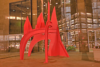 590 Madison Avenue, , Saurien Sculpture, 1975 by Alexander Calder, Former IBM Building, Designed by Edward Larrabee Barnes, New York City, NY