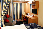 Stateroom on the Disney Fantasy