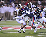 Ole Miss wide receiver Cody Core (88) tackles Vanderbilt wide receiver Jonathan Krause (17) at Vaught-Hemingway Stadium in Oxford, Miss. on Saturday, November 10, 2012. (AP Photo/Oxford Eagle, Bruce Newman)