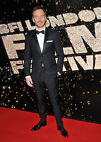 Michael Fassbender at the 60th BFI London Film Festival Awards 2016, Banqueting House, Whitehall, London, England, UK, on Saturday 15 October 2016.<br /> CAP/CAN<br /> &copy;CAN/Capital Pictures /MediaPunch ***NORTH AND SOUTH AMERICAS ONLY***