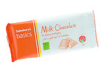 Bar of Milk Chocolate from Sainsbury's Basics Food Range - Jul 2013.