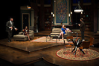 """""""Disgraced"""" by Ayad Akhtar directed by Seth Gordon presented by The Repertory Theatre of St. Louis at The Loretto-Hilton Center for the Performing Arts of Webster University in St. Louis, Missouri on Feb 9, 2016."""