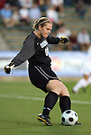 07 November 2008: North Carolina's Anna Rodenbough. The University of North Carolina Tarheels defeated Boston College Eagles 2-0  at WakeMed Stadium at WakeMed Soccer Park in Cary, NC in a women's ACC tournament semifinal game.