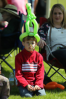 HOT SPRINGS, AR - MARCH 18: A kid wearing a balloon hat in infield before the running of the Rebel Stakes at Oaklawn Park on March 18, 2017 in Hot Springs, Arkansas. (Photo by Justin Manning/Eclipse Sportswire/Getty Images)