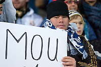 Real Madrid Fan supporting coach Jose Mourinho