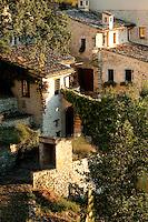 'I Cerri', 14th century Watch-tower of Poreta Castle, Spoleto, Umbria, Italy