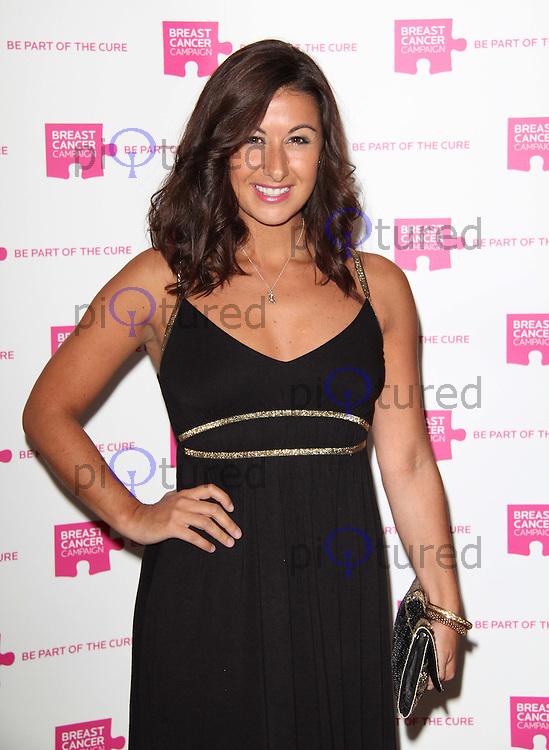 Hayley Tamaddon The Pink Ribbon Ball, Dorchester Hotel, London, UK. 08 October 2011. Contact: Rich@Piqtured.com +44(0)7941 079620 (Picture by Richard Goldschmidt)