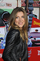 "ANAHEIM - JUN 13:  Sarah Chalke arrives at the ""Cars Land"" Grand Opening  at California Adventure on June 13, 2012 in Anaheim, CA"
