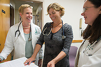 20140812 UVM Nursing Faculty at Appletree Bay Primary Care. CNHS