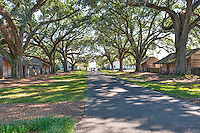 This was the slaves quarter of Oak Alley these were very small home where muliple slaves would of lived.  The slaves built this plantation including the mansion, the gardens, along with the sugar cane.