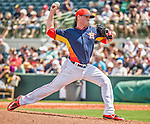22 March 2015: Houston Astros pitcher Dan Straily on the mound during a Spring Training game against the Pittsburgh Pirates at Osceola County Stadium in Kissimmee, Florida. The Astros defeated the Pirates 14-2 in Grapefruit League play. Mandatory Credit: Ed Wolfstein Photo *** RAW (NEF) Image File Available ***