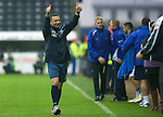 Kilmarnock v St Johnstone...01.10.11   SPL Week 10.Thumbs up from Derek McInnes at full time.Picture by Graeme Hart..Copyright Perthshire Picture Agency.Tel: 01738 623350  Mobile: 07990 594431