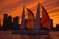 Boston sailing