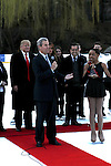 Terry Lundgren Accepts Award at The 2011 Figure Skating in Harlem - Skating with the Stars Honoring Tina and Terry Lundgren, Sarah Hughes and Lola C. West at the Wollman Rink, NY 4/4/11