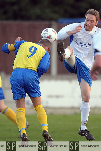 Spartan Athletic Vs Haver Town. Division 2 Cup Final. Romford and District League. Millfield. Aveley FC. Essex. 20/04/2009. Credit Garry Bowden