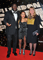 Steve McQueen and his family at the 60th BFI London Film Festival Awards 2016, Banqueting House, Whitehall, London, England, UK, on Saturday 15 October 2016.<br /> CAP/CAN<br /> &copy;CAN/Capital Pictures /MediaPunch ***NORTH AND SOUTH AMERICAS ONLY***