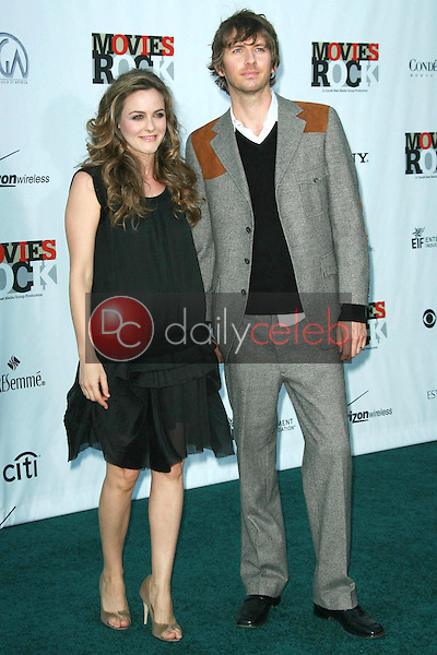 Alicia Silverstone and husband Christopher<br />