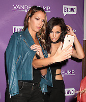 NEW YORK, NY - NOVEMBER 2:  Kristen Doute and Scheana Shay pictured as BRAVO's 'Vanderpump Rules' cast at the kick-off of first ever 'VanderCrawl' bar crawl in New York, New York on November 2, 2016. Credit: Rainmaker Photo/MediaPunch