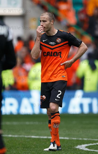 Dundee Utd dejection: Sean Dillon