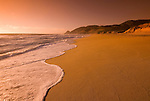 Montara Beach,.San Mateo Coast of California, south of San Francisco.  Photo copyright Lee Foster, 510-549-2202, lee@fostertravel.com, www.fostertravel.com. Photo 409-30858