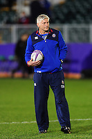 Bath Director of Rugby Todd Blackadder looks on during the pre-match warm-up. European Rugby Challenge Cup match, between Bath Rugby and Cardiff Blues on December 15, 2016 at the Recreation Ground in Bath, England. Photo by: Patrick Khachfe / Onside Images