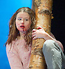 Let The Right One In <br /> by Jack Thorne<br /> based on the novel by John Ajvide Lindqvist <br /> at The Apollo Theatre, London, Great Britain <br /> press photocall<br /> 4th April 2014 <br /> <br /> directed by John Tiffany <br /> <br /> Rebecca Benson as Eli <br /> <br /> Martin Quinn as Oskar <br /> <br /> Graeme Dalling as Jonny<br /> <br /> Angus Miller as Torkel <br /> <br /> Susan Vidler as Mum <br /> <br /> Gary Mackay as Kurt<br /> <br /> Clive Mendus as Hakan <br /> <br /> Gavin Kean as Halmberg