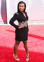 LOS ANGELES, CA, USA - AUGUST 24: Uzo Aduba at the 2014 MTV Video Music Awards held at The Forum on August 24, 2014 in the Los Angeles, California, United States. (Photo by Xavier Collin/Celebrity Monitor)